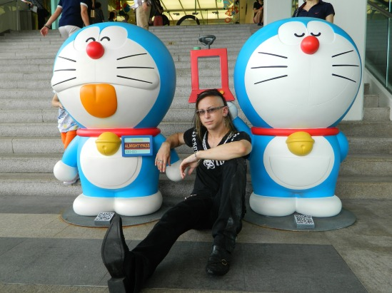 John Skeleton & Doraemon